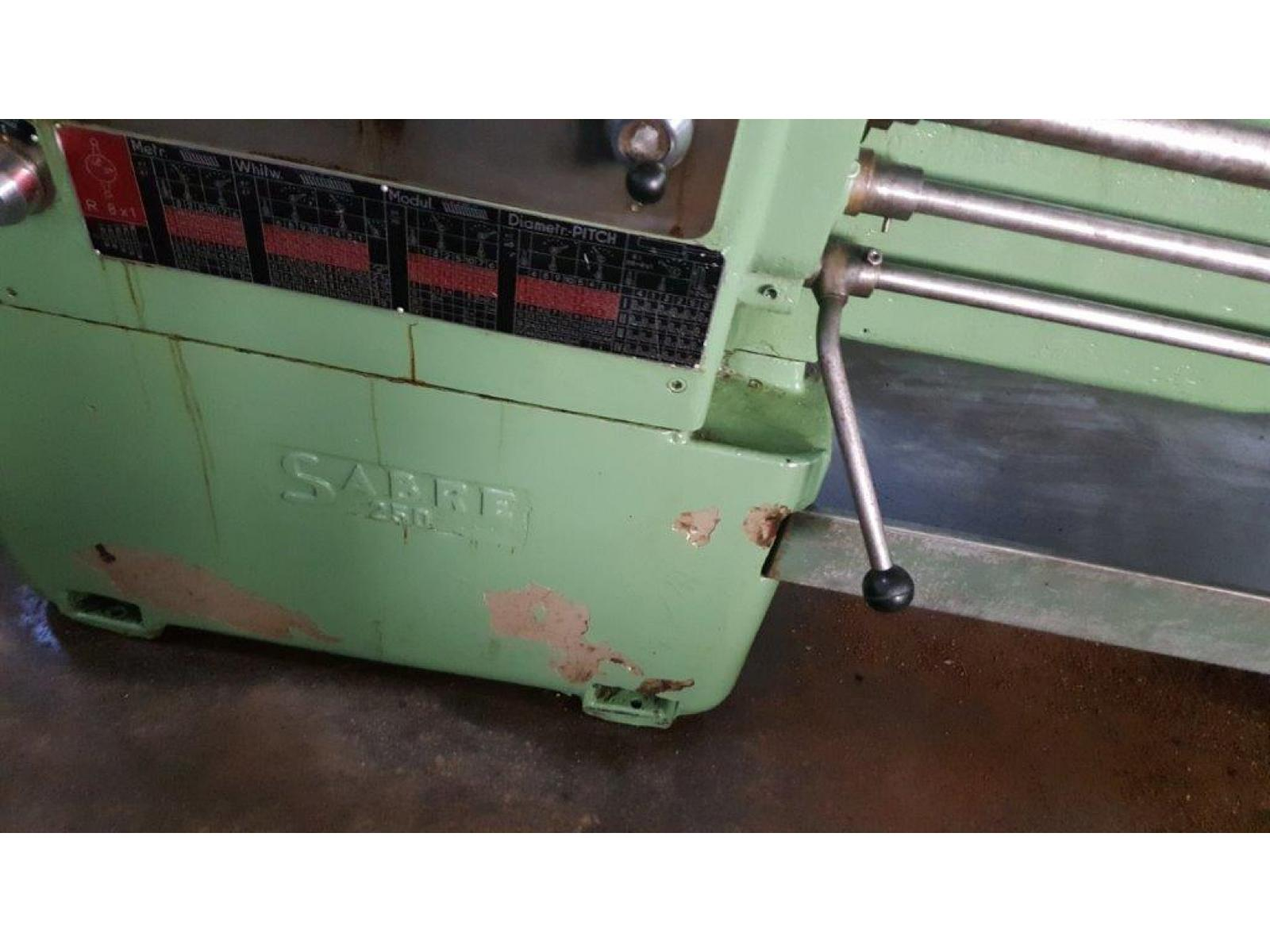 Tornio parallelo  SABRE 250mm X  2000mm